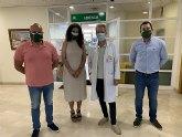 VOX muestra su apoyo al sindicato Solidaridad en su visita a la Región de Murcia