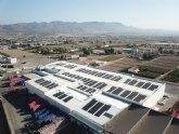 Campo de Lorca apuesta por la energía solar instalando paneles solares sobre la cubierta de sus instalaciones