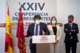 López Miras afirma que 'salimos igual de preocupados y sin respuestas' sobre vacunas, fondos europeos, agua e infrafinanciación