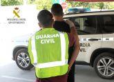 La Guardia Civil esclarece una agresión sexual y robo con violencia cometidos en Murcia en 2016