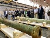 Las nuevas piezas extraídas del pecio de ´Las Mercedes´ supondrán un reclamo turístico internacional para Cartagena