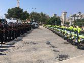128 guardias civiles de la UMSV y un centenar de la Zona de Murcia velarán por la seguridad de La Vuelta 2108 a su paso por la Región