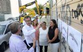 Las 80 plazas del nuevo parking de San Antón estarán a disposición de los murcianos este otoño