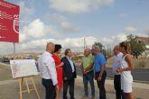Comienzan las obras de construcción de una rotonda para mejorar la circulación y los accesos al Mercado de Ganado