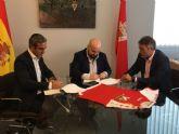 La 7 y el Real Murcia firman un convenio que permitirá la retransmisión de sus partidos