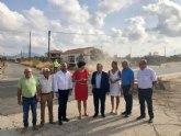 Fomento comienza a construir una glorieta en Puerto Lumbreras para mejorar la seguridad de 1,8 millones de desplazamientos al año