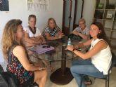 VOX Cartagena se reúne con la plataforma de afectados por el Plan Rambla