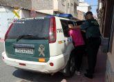 La Guardia Civil detiene a la presunta autora del robo en la cafetería del campo de fútbol de Fortuna