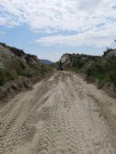 Finaliza la fase de acondicionamiento de la plataforma de la Vía Verde del Chicharra en su tramo por Cieza