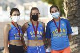 25 titulos para el UCAM Atletismo Cartagena en el Regional Absoluto y sub23