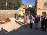 Los 7,5 millones de euros que aporta la Consejería de Fomento para el barrio de San Cristóbal permiten que el Ayuntamiento de Lorca reforme 58 calles más