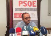 Una nueva adjudicación a dedo del PP impedirá que empresas de Lorca puedan optar a unas obras de medio millón de euros