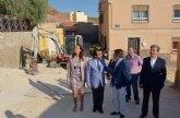 La mejora integral del casco urbano de Lorca se amplía con la renovación de 58 calles en el barrio de San Cristóbal
