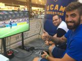 El equipo de eSports de la UCAM toma el centro de Murcia con un torneo de FIFA 17
