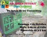 La Asociación Deportiva de Joven Futura inicia sus actividades con una salida 'Geocaching' en el Valle