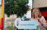 San Pedro del Pinatar celebra un acto institucional por la Unidad Nacional