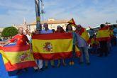 Las Torres de Cotillas se concentra en defensa de la unidad de España
