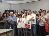 Diego Conesa, elegido secretario general del PSRM-PSOE