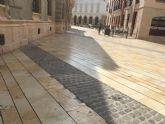 Cs reclama al Ayuntamiento que arregle los desperfectos en el pavimento de José María Artés y bajo el antiguo Edificio Tívoli