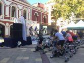 La Plaza de Calderón se convierte en un gimnasio al aire libre con el Fitness Day de los Juegos del Guadalentín