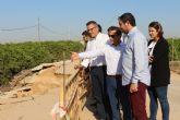 Diego Conesa asegura que Los Alcázares y Torre Pacheco tienen que ir de la mano para buscar soluciones a las inundaciones