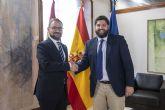 López Miras se reúne con el alcalde de Lorca