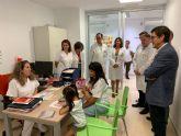 Salud pone en marcha la Unidad Regional de Disfagia Infantil para asistir de forma integral a los afectados