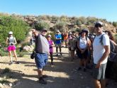 Una treintena de personas participan en la ruta guiada interpretativa con motivo del Día Mundial del Turismo