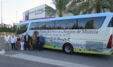 Turismo presenta los nuevos recorridos del ´Bus del Vino´ por las rutas de Bullas, Jumilla y Yecla