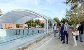 Los más de 400 nadadores federados del municipio estrenarán en un mes la nueva piscina cubierta de Espinardo