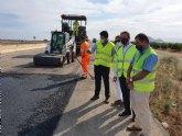 Mejoran la seguridad de la autovía del Mar Menor con la renovación del firme