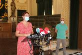 La alcaldesa informa de la ligera mejora de los datos epidemiológicos en Jumilla