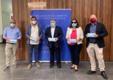 La Delegación del Gobierno reparte cerca de 480.000 mascarillas entre los municipios y entidades sociales de la Región de Murcia