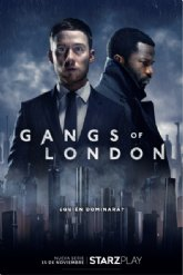 "Starzplay anuncia fecha de estreno del thriller de acción visceral ""Gangs of London"""