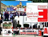 La Espana Vaciada reclama al Gobierno una mayor cohesión territorial mediante infraestructuras como el tren Lorca Almanzora Baza Guadix