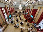 El Pleno aprueba por unanimidad el Acuerdo de Condiciones de Trabajo y Convenio Colectivo de los Empleados Públicos del Ayuntamiento de Murcia