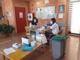 La tercera dosis de la vacuna contra la COVID-19 llega a la Residencia de Ancianos Nuestra Senora Virgen de la Esperanza