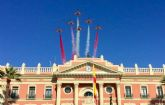 450 murcianos sellan su fidelidad a la bandera nacional en una Jura Civil multitudinaria