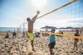 La liga regional de vóley playa cierra con éxito su primera jornada