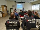 Agentes de la Policía Local de Cartagena se forman como monitores de Educación Vial