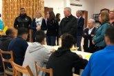C�ritas gestiona la acogida de los menores llegados en pateras a la Regi�n