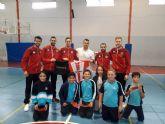 El Jimbee CT Fútbol Sala visita a los alumnos del CEIP Virgen del Carmen