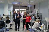 La directora del SEF visitó Alcantarilla para conocer posibles ubicaciones de unas nuevas instalaciones para las oficinas de empleo
