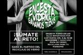 Murcia se ilumina esta noche de verde con motivo de la campaña ´Encesta vidrio, ganamos todos´