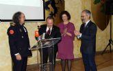 Pedro Antonio Muñoz recibe la Medalla de Oro de la Asociación Nacional de Agrupaciones de Protección Civil