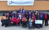 El Coleg�o Azaraque dona 1500 euros a la Fundaci�n Francisco Munuera