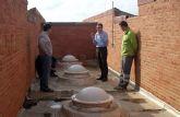 El presidente regional se compromete a que los arreglos de los aseos y de la cimentación del colegio 'Vista Alegre' se harán en Navidad