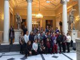 Las mujeres de la asociacion 'Isabel González' disfrutan del Real Casino de Murcia