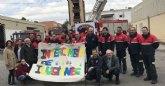 La Comunidad respalda la campaña de recogida de alimentos de los bomberos del Consorcio de Extinción de Incendios