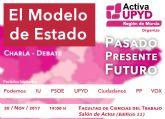 Charla y debate sobre el modelo de estado organizada por UPYD